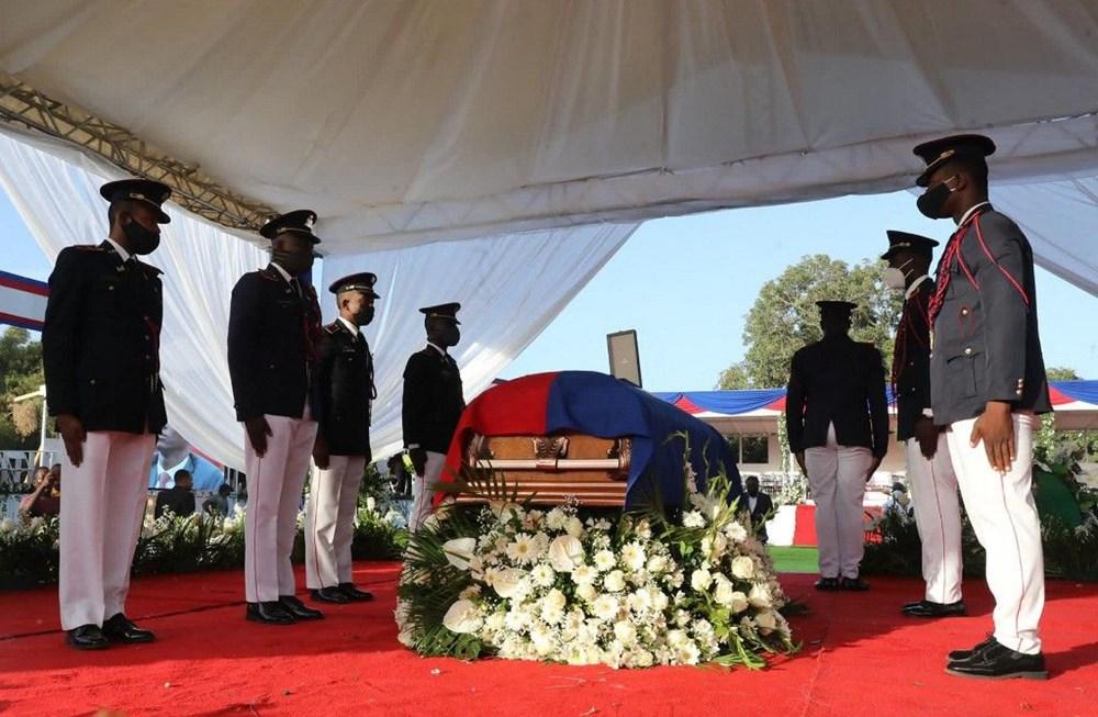 Suikasta uğrayan Haiti Devlet Başkanı'na cenaze töreni düzenlendi - 3