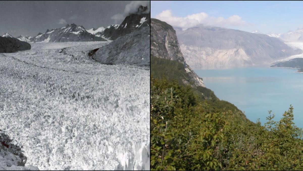 NASA, iklim değişikliğinin dünyayı nasıl değiştirdiğini gözler önüne seren fotoğraflar paylaştı