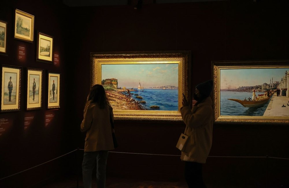 553 eser Osmanlı saray resminin tek temsilcisi Milli Saraylar Resim Müzesi'nde - 4