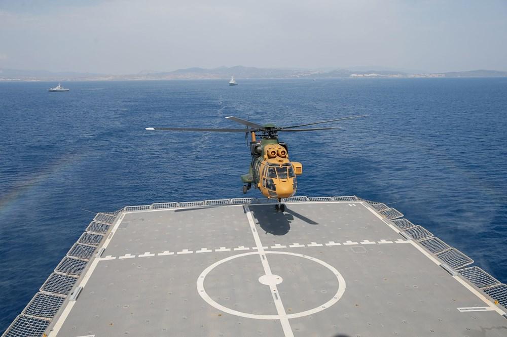 Türkiye'nin 'amiral gemisi'nde son durum görüntülendi (Türkiye'nin yeni nesil silahları) - 175