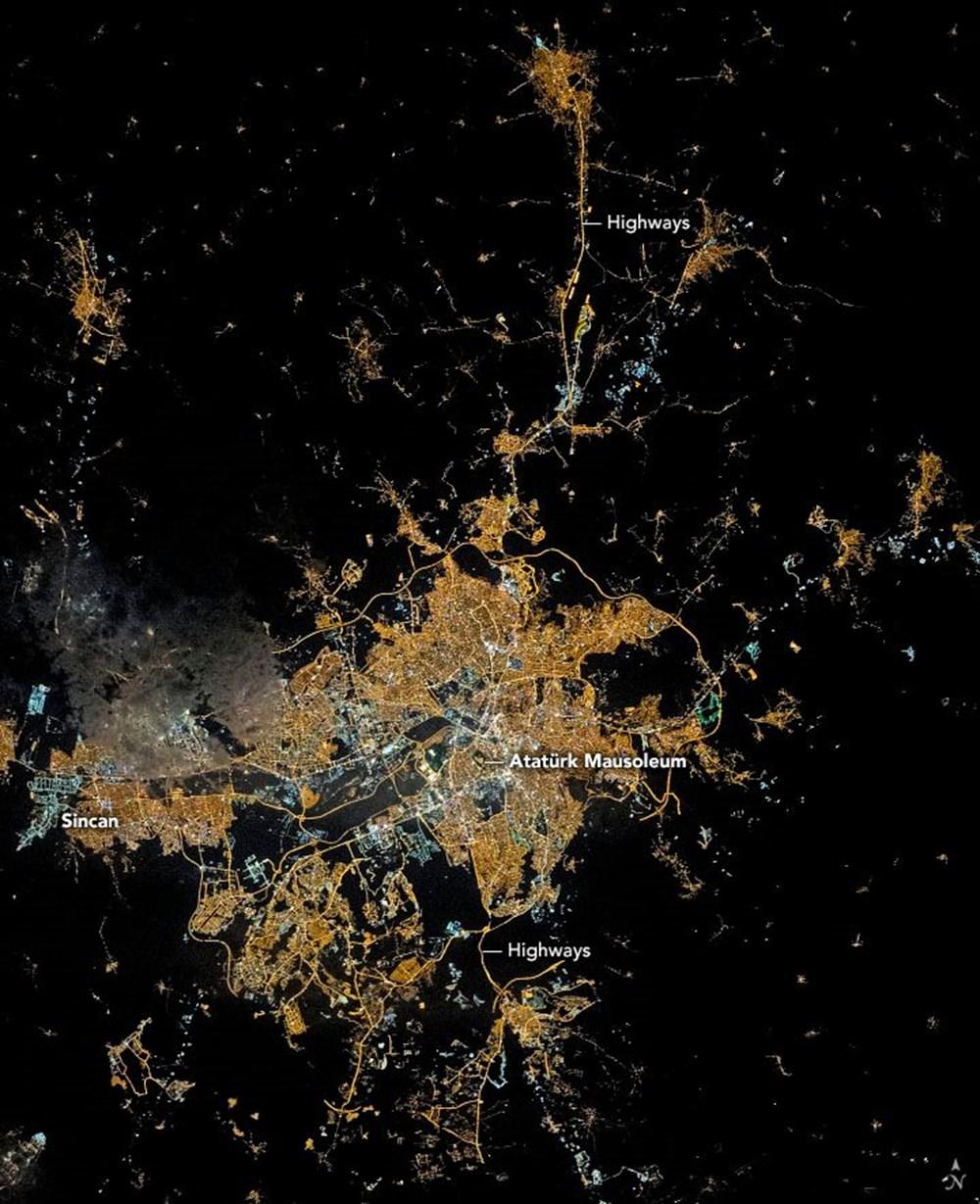 NASA Ankara'dan fotoğraf paylaştı (Astronotların gözünden gezegenimiz) - 1