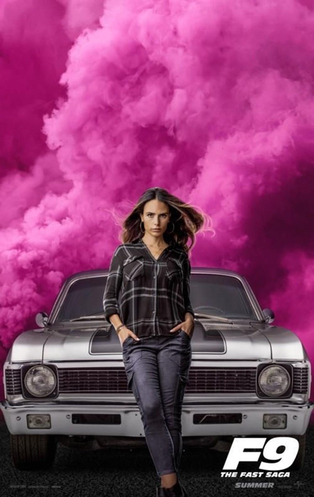 Hızlı ve Öfkeli 9'dan karakter posterleri (Fast Furious 9) | NTV