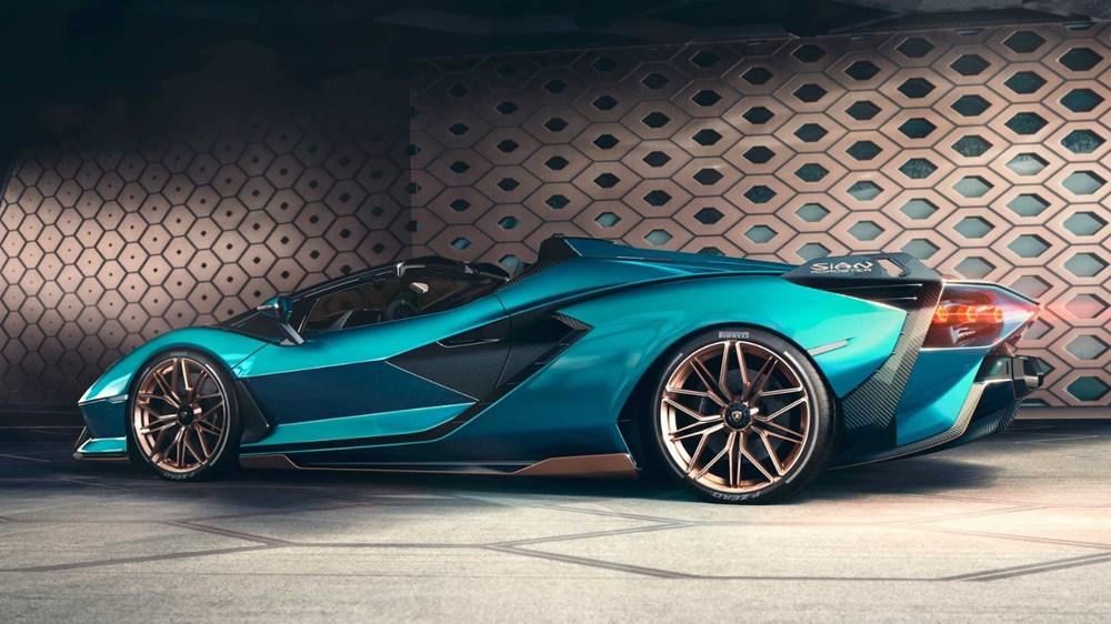 Lamborghini Sion Roadster tanıtıldı (Sadece 19 adet üretilecek) - 3