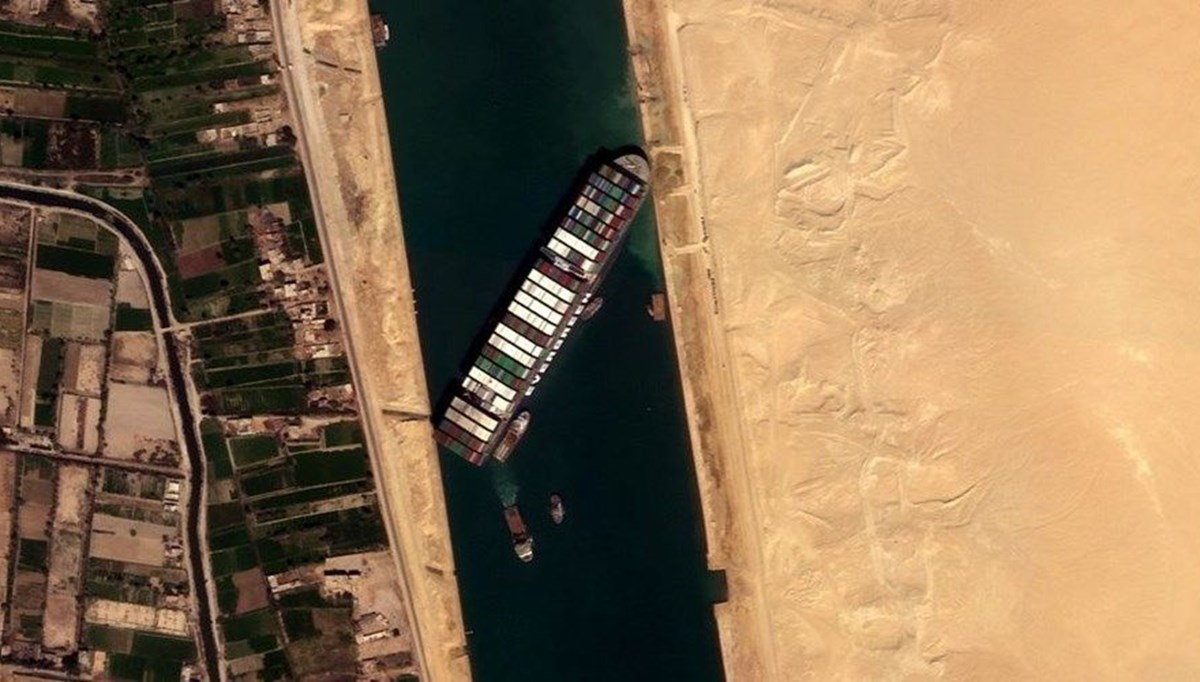 Owner of the ship blocking Suez wants to share the compensation with the owners of the cargo