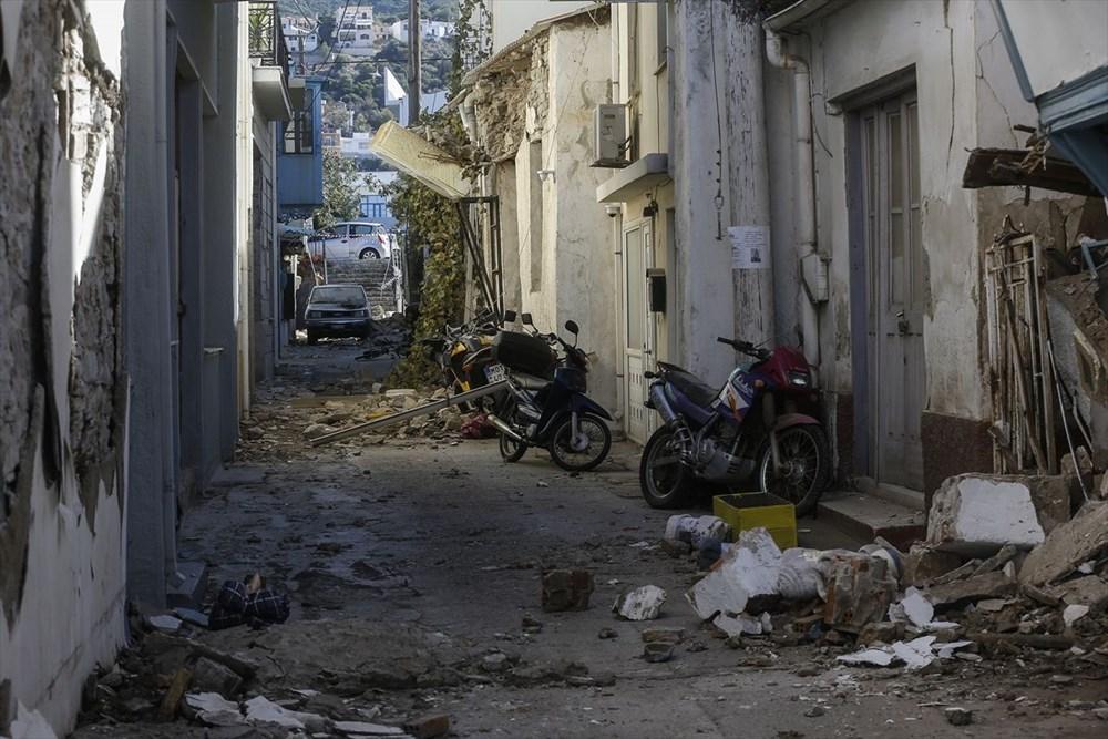 Depremin vurduğu Yunan adası Sisam'da son durum - 41