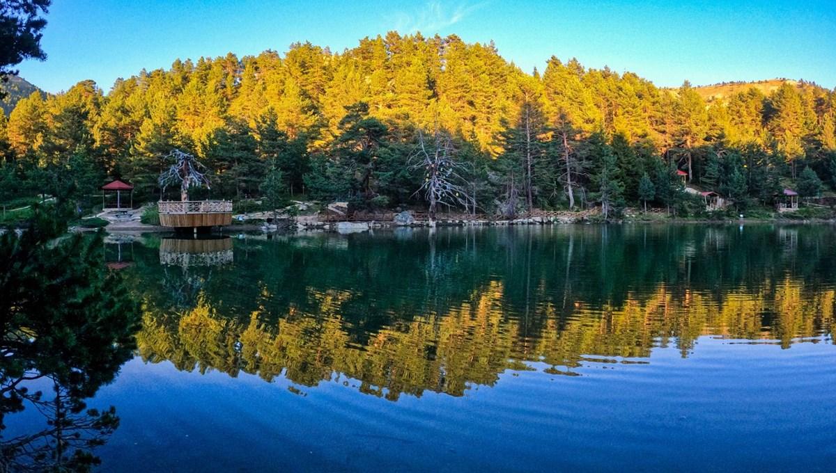 Zigana Dağı eteklerinde bir doğa harikası: Limni Gölü Tabiat Parkı