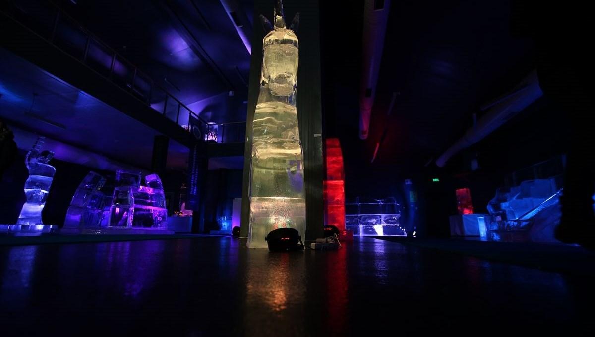 Ata Buz Müzesi: 'Türkiye'nin tek buz müzesi' ziyaretçilerini adeta kutuplarda gezintiye çıkarıyor