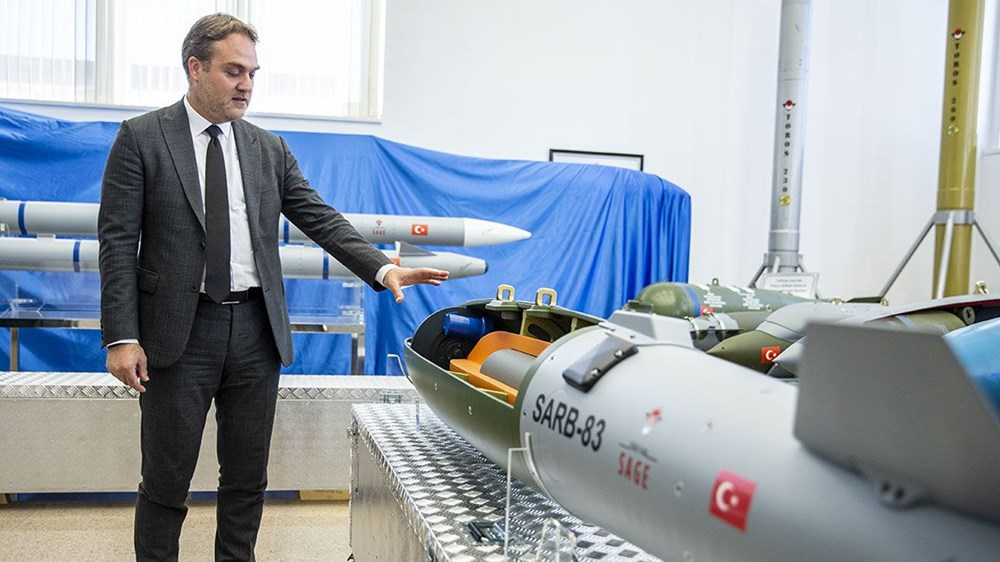 Silahlı drone Songar, askeri kara aracına entegre edildi (Türkiye'nin yeni nesil yerli silahları) - 33