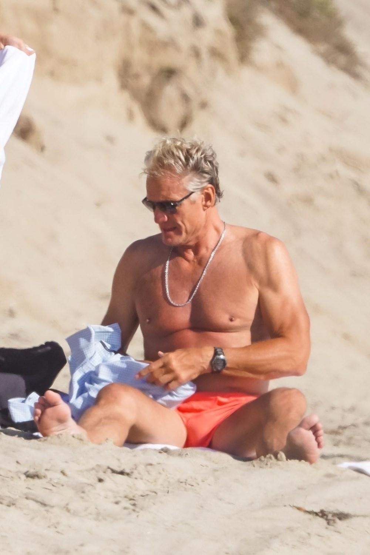 Rocky filminin yıldızı Dolph Lundgren 38 yaş küçük nişanlısıyla tatilde - 7