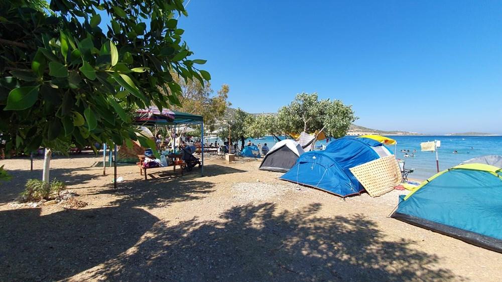 Sahiller çadır kente döndü: Günlüğü 45 liraya tatil - 12