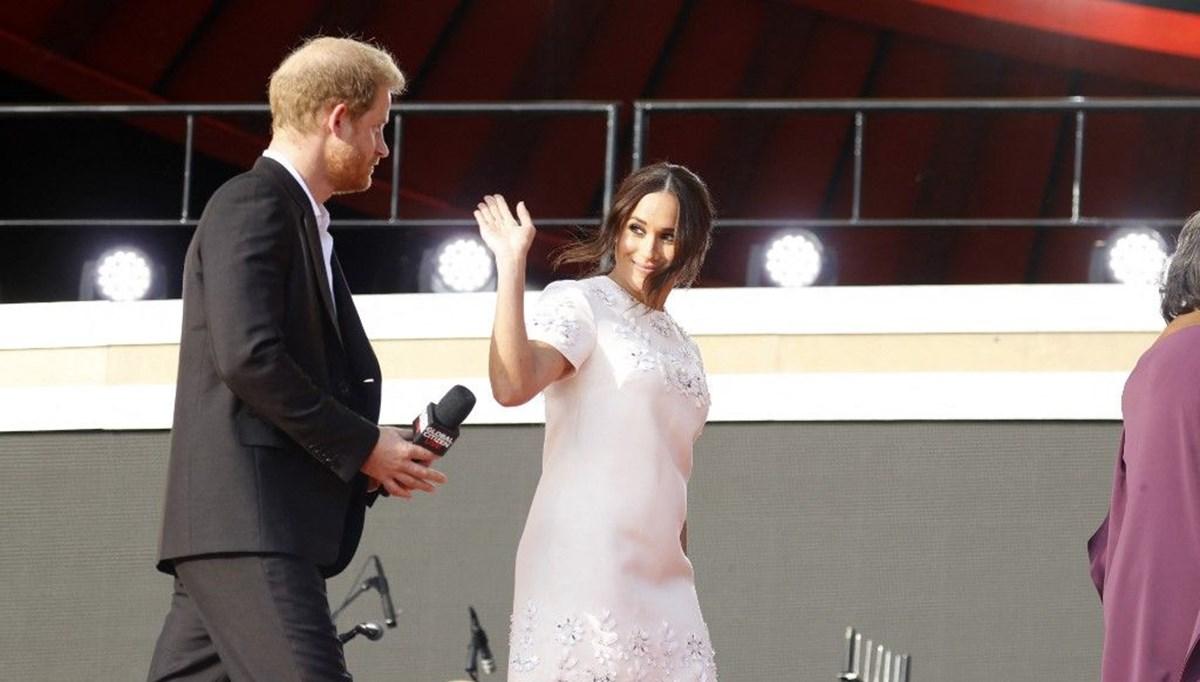 Meghan Markle ve Prens Harry Global Citizen etkinliğinde alay konusu oldu