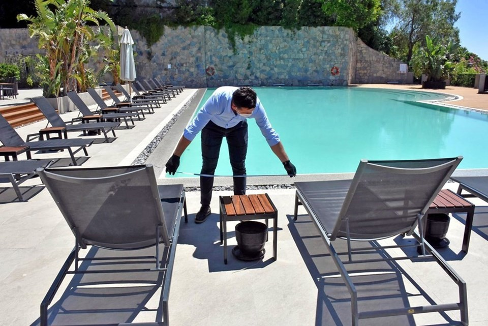 Oteller corona virüs önlemlerine karşı hazırlıklarını yapmaya başladı