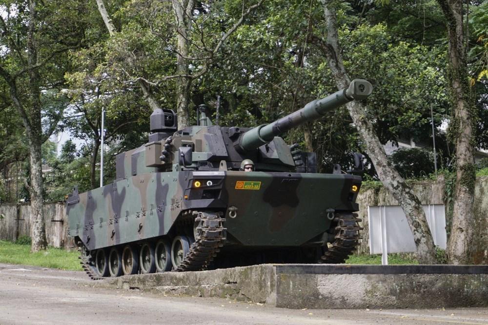 Dijital birliğin robot askeri Barkan göreve hazırlanıyor (Türkiye'nin yeni nesil yerli silahları) - 182