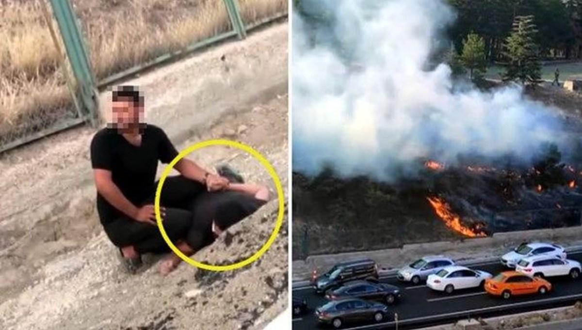 Kışlada yangın çıkarmaya çalışan şüpheli itiraz üzerine tutuklandı