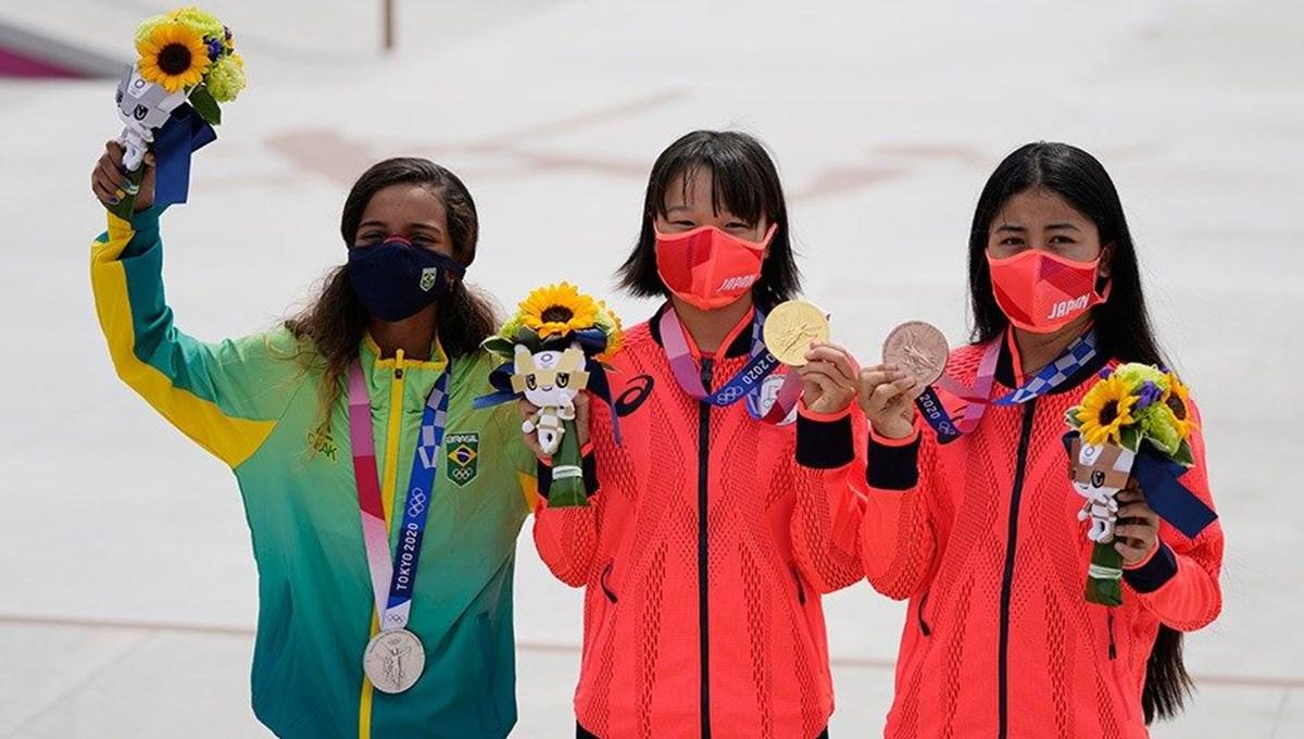 13 yaşında Olimpiyat şampiyonu (Tokyo 2020)