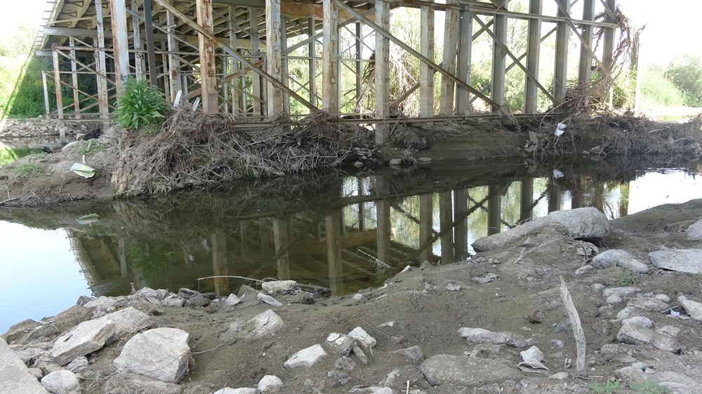Büyük Menderes Nehri kurudu - 6