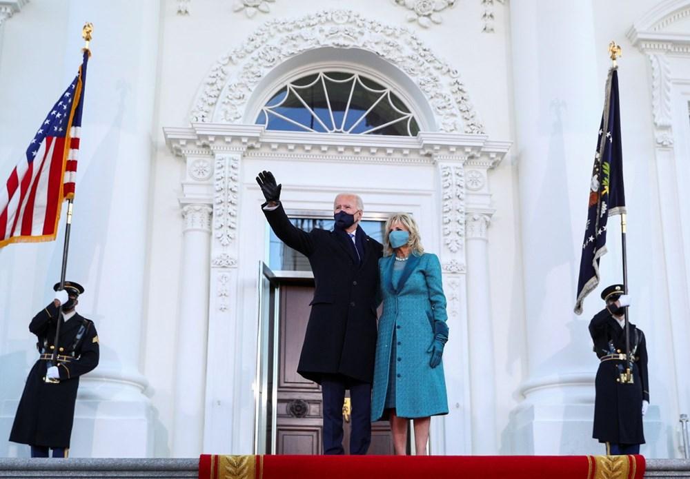 Joe Biden'ın yemin töreninden kareler (ABD'nin 46. Başkan Joe Biden göreve başladı) - 4