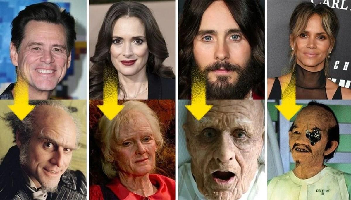 Sıra dışı rolleri için güzelliğini yok eden 12 cesur oyuncu