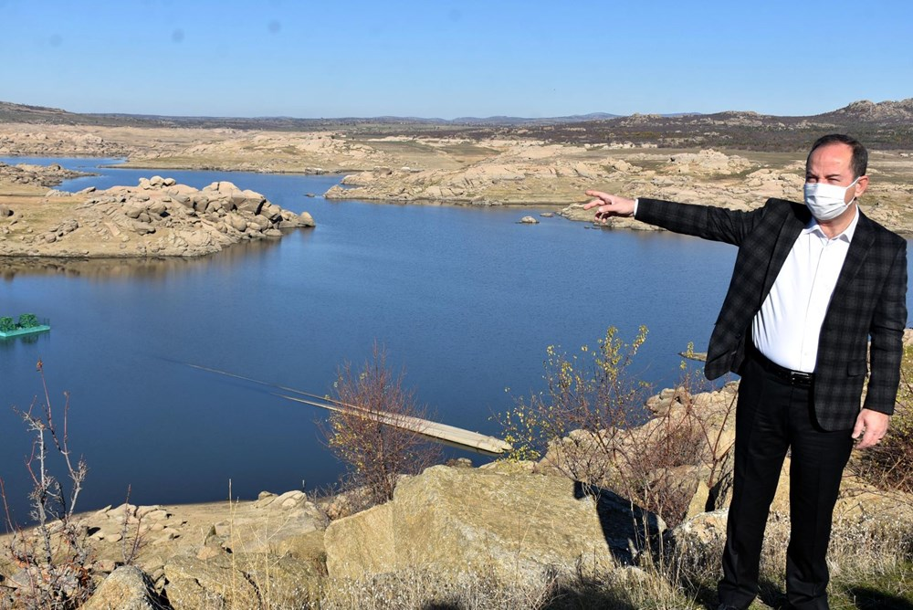 Edirne'nin içme suyunu sağlayan baraj kurudu: 36 saatlik kesinti - 11
