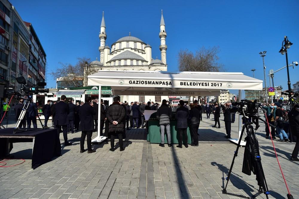 Soylu'nun annesi için tören düzenlendi (Cumhurbaşkanı Erdoğan da katıldı) - 4