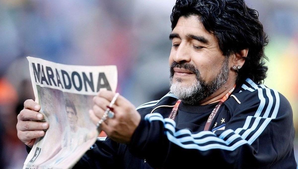 Maradona'nın ölümünün ardından rapor açıklandı