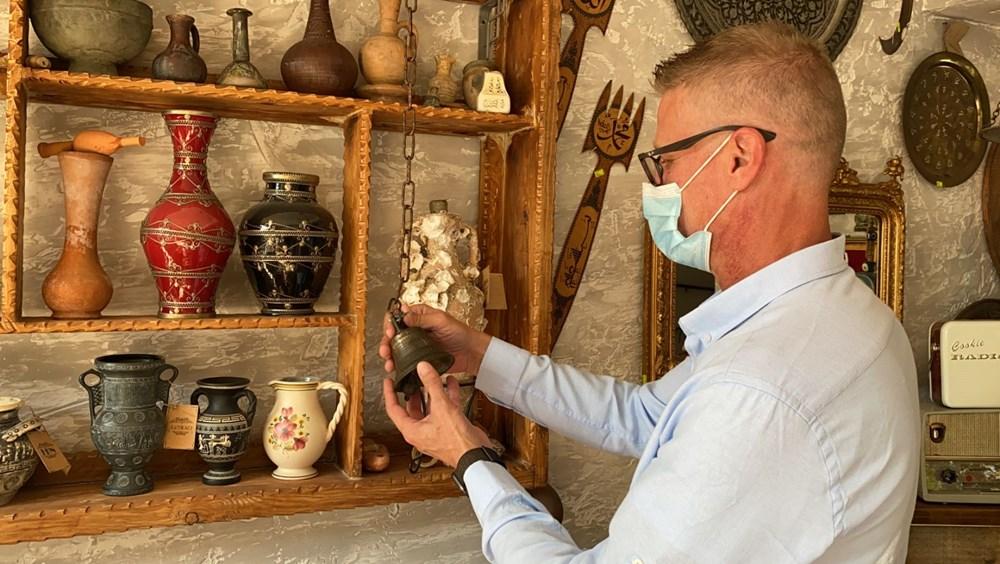 Ayasofya'ya ait olduğu düşünülen 2 bin yıllık çanı hurdacı buldu, incelemeye alındı - 5