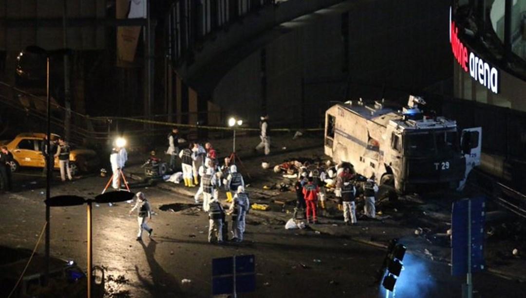 Beşiktaş terör saldırısının 3. yıldönümü