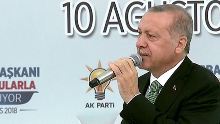 Erdoğan'dan dolar bozdurun çağrısı