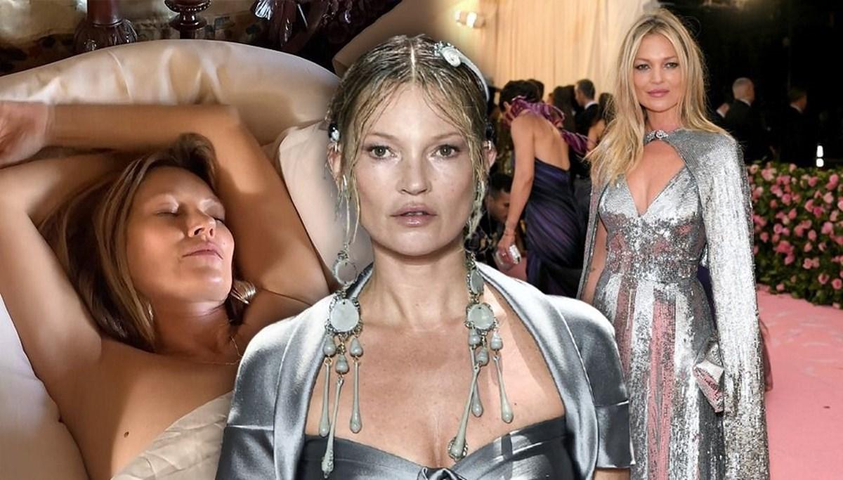 Kate Moss uyku anını gösteren NFT'sini açık artırmada 17 bin dolara sattı