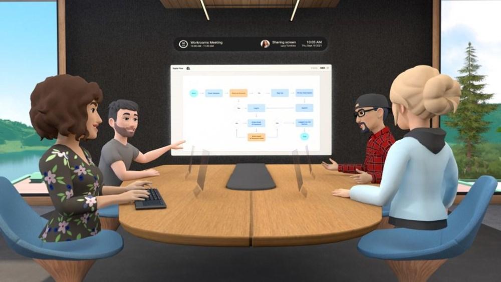 """Facebook, """"Horizon Workrooms"""" adlı sanal ofis uygulamasını tanıttı - 2"""