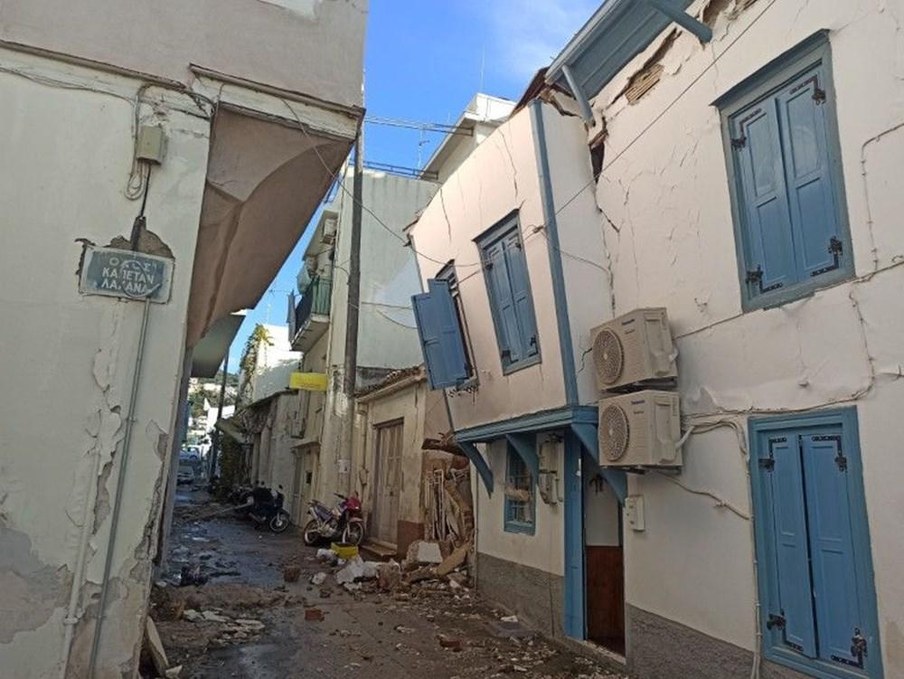 Depremin vurduğu Yunan adası Sisam'da son durum - 23