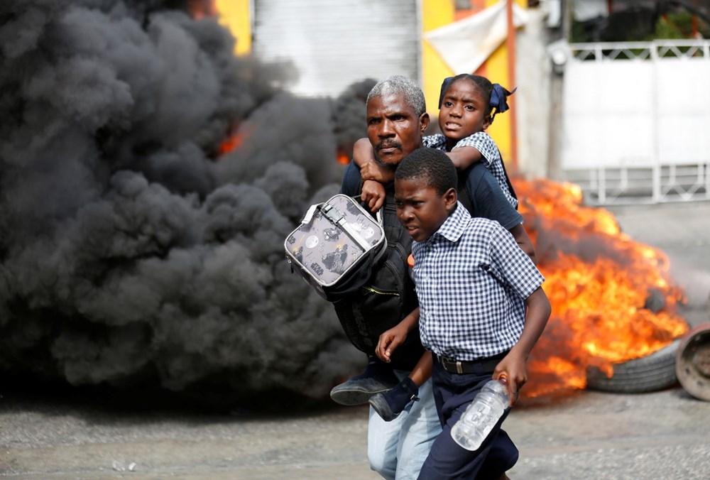 Haiti'de hükümet karşıtı protestolara sert müdahale - 3