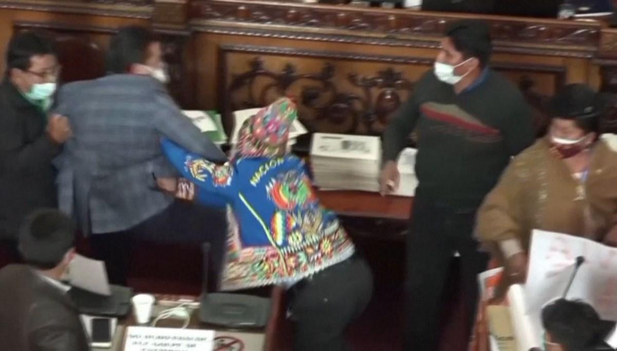Milletvekilleri birbirine girdi