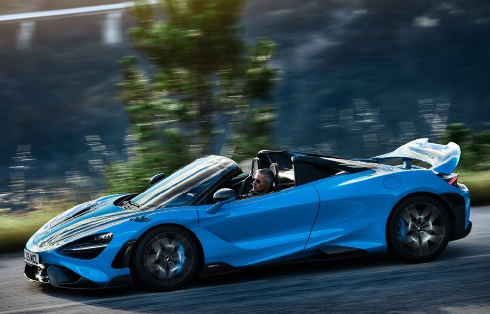 McLaren tarihinin en hızlı üstü açık modeli tanıtıldı:  765LT Spider - 11
