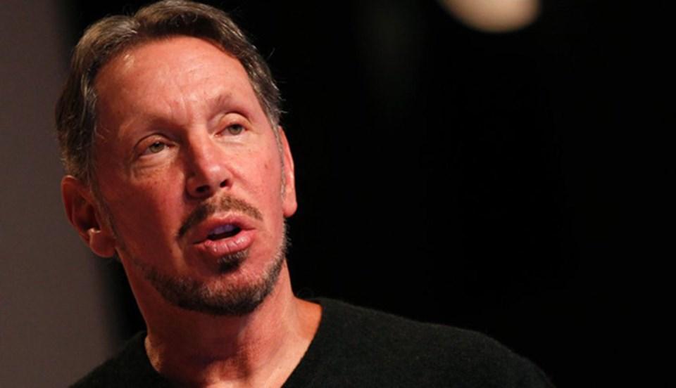 Oracle'ın sahibi Larry Ellison 41 milyar dolarlık servetiyle dünyanın en zengin 6'ıncı ismi.