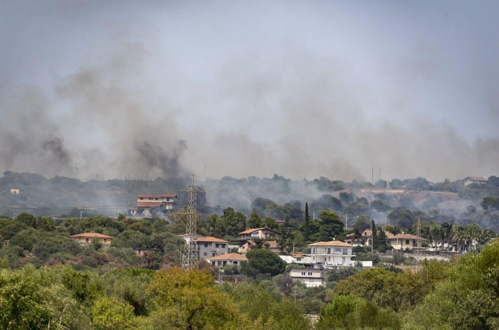 Akdeniz alev aldı: Yunanistan ve İtalya'da orman yangınları sürüyor - 17