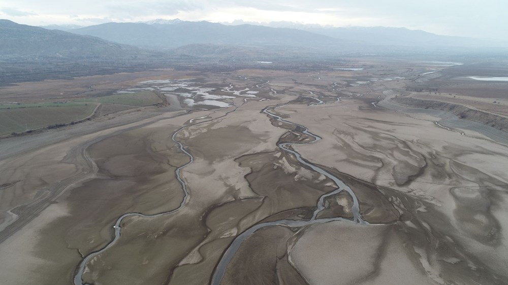 Barajdan geriye nehir yatağı kaldı - 8
