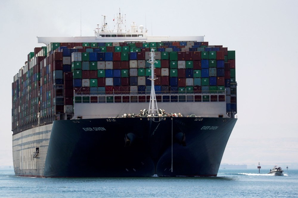 """blocking the Suez Canal """"The Ever Given"""" Headed to the Netherlands - 2"""