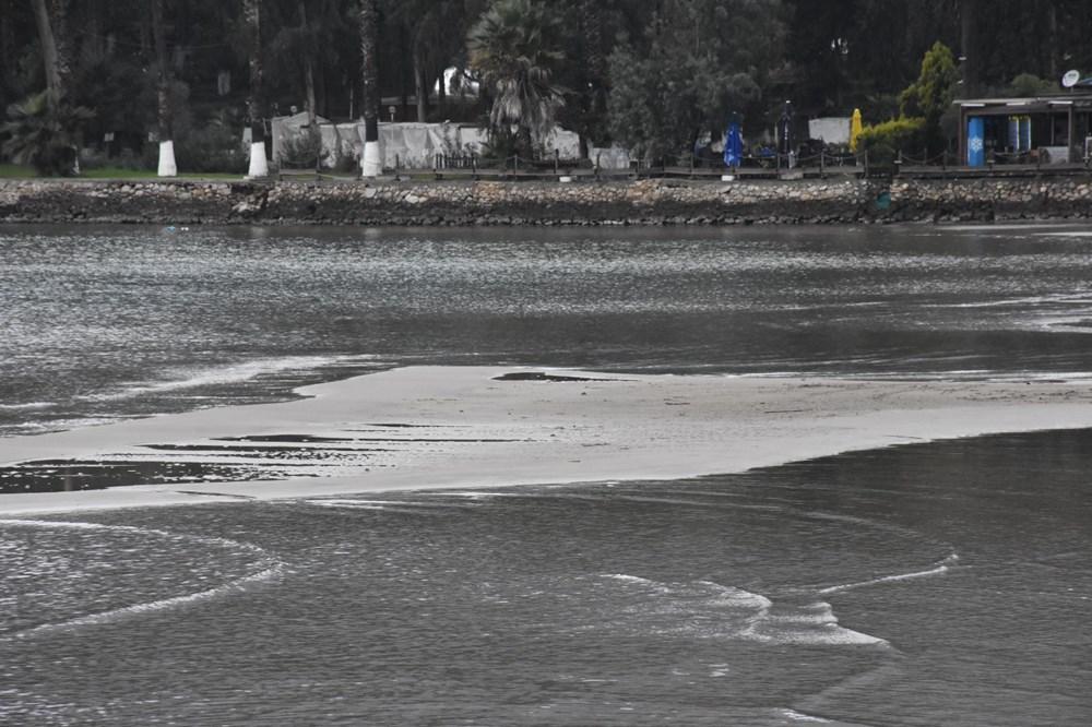 Muğla'da deniz suyu 40 metre çekildi - 6