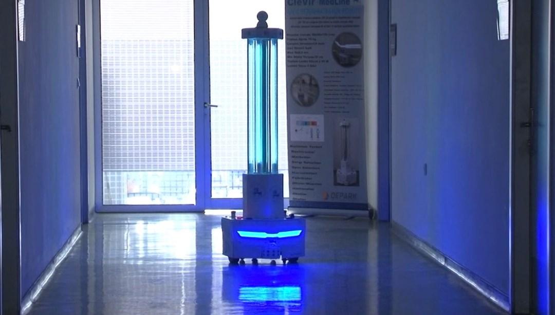 Yüzey ve havadaki virüsü yok eden cihaz (Yüzde 99 oranında temizliyor)