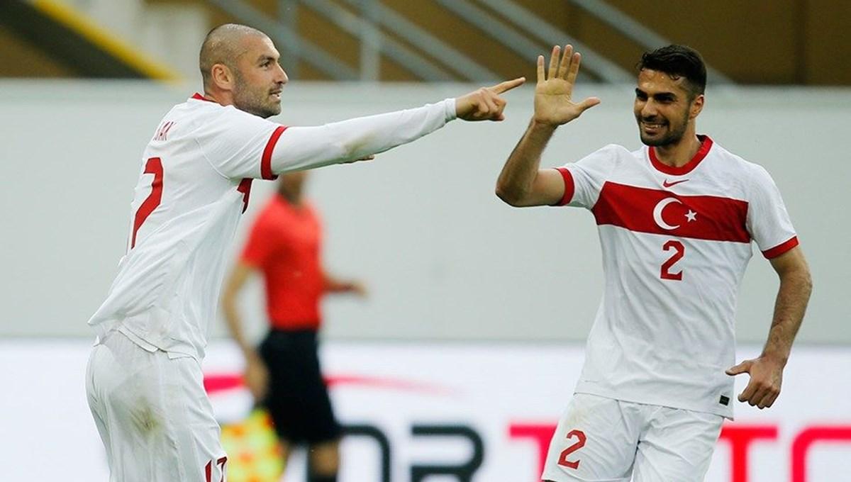 Türkiye: 2 - Moldova: 0 (Maç Sonucu)
