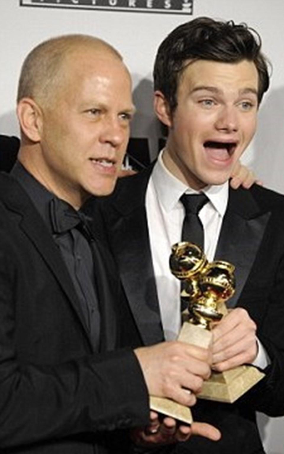 Kurt rolünü canlandıran Chris Colfer, Altın Küre'de 'en iyi komedi aktörü' ödülünü kazanmıştı.