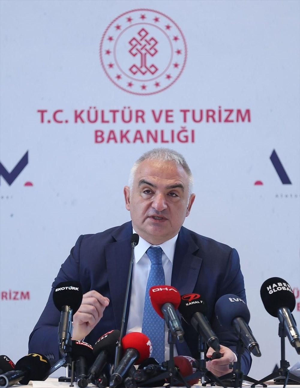 Kültür ve Turizm Bakanı Ersoy: AKM dünyadaki en önemli 10 kültür merkezi arasında yer alacak - 13