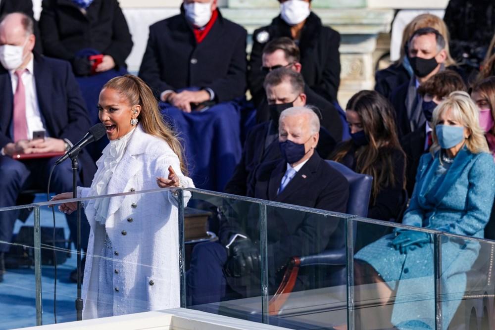 Yemin töreninde Jennifer Lopez'den İspanyolca mesaj - 5