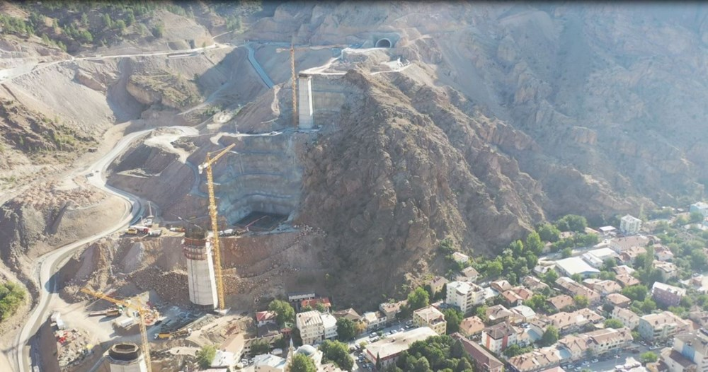 Türkiye'nin en yüksek ayaklı ikinci viyadüğü açılıyor - 4
