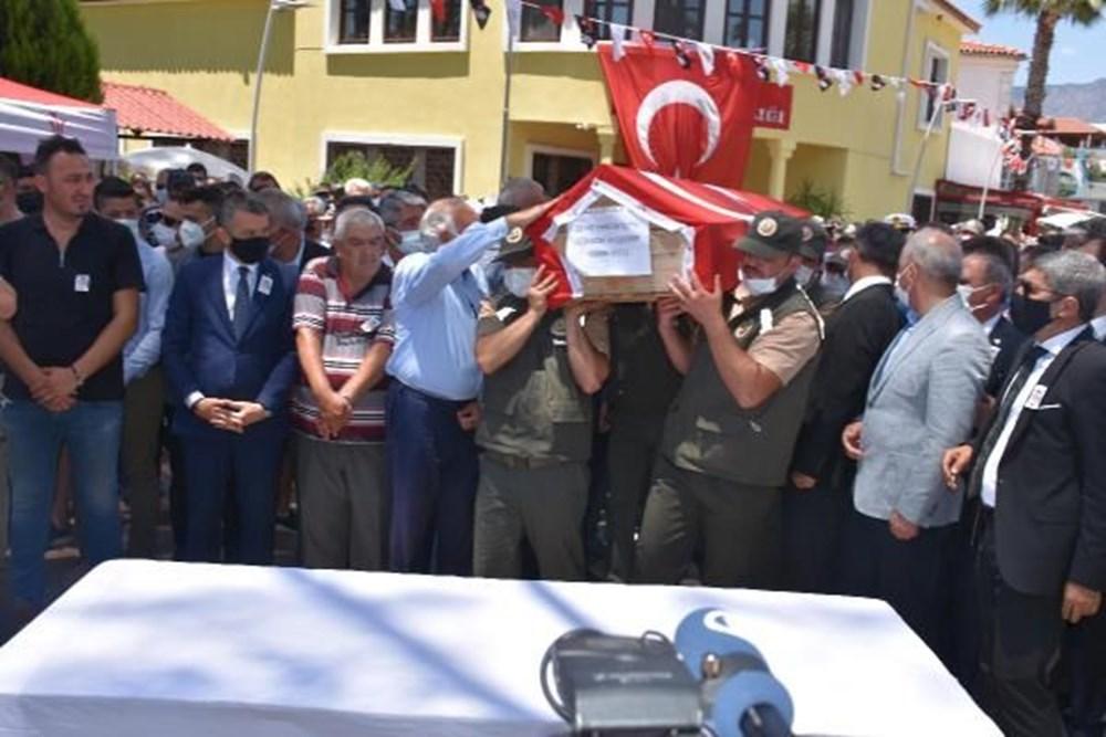 Muğla'da 'orman şehidi' törenle son yolculuğuna uğurlandı - 21