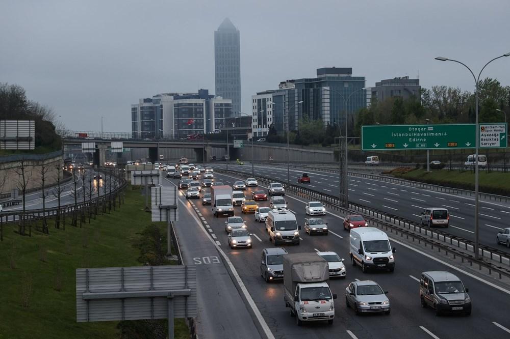 İstanbul'da, 'tam kapanma' öncesinde kaçış trafiği - 8