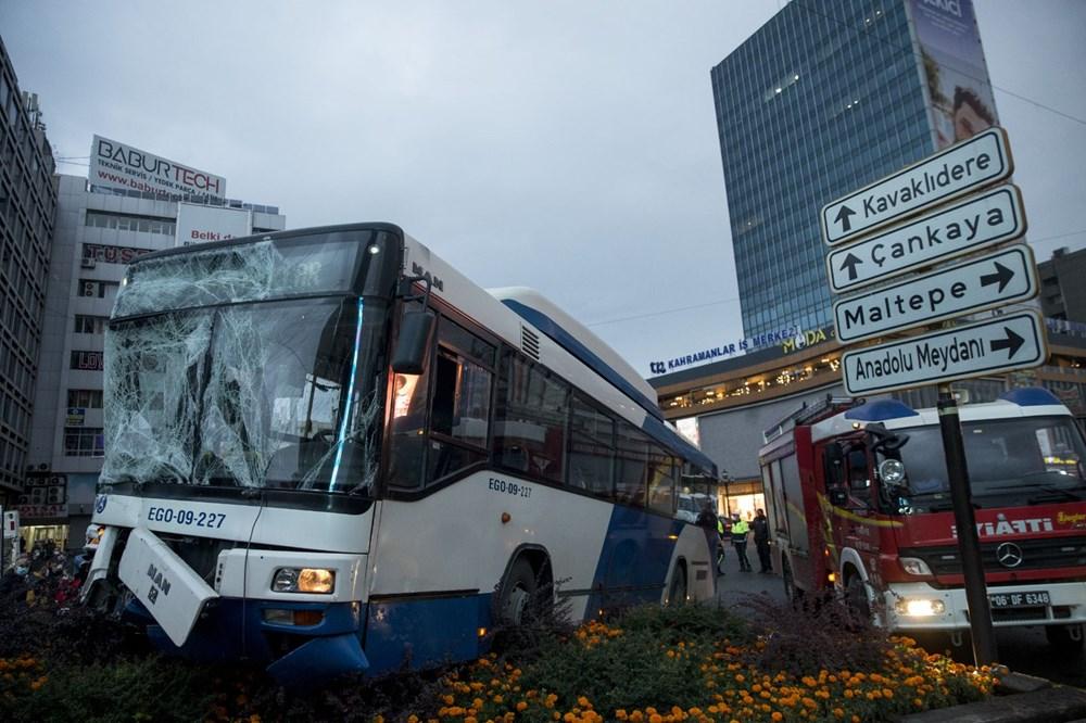Ankara'da iki otobüs çarpıştı: 17 yaralı - 9