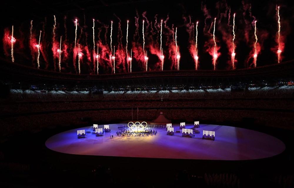 2020 Tokyo Olimpiyatları görkemli açılış töreniyle başladı - 29