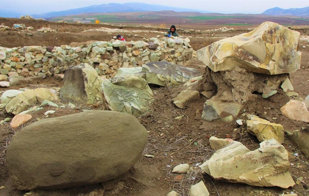 Amasya'da 2 bin 600 yıllık 'Kubaba Sunağı' keşfedildi - 2